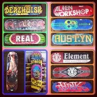 Photo taken at Kellum Skate Shop by Jenny P. on 9/28/2013