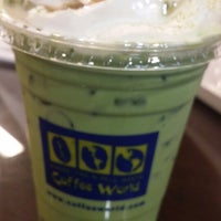 Photo taken at Coffee World by Nanyana P. on 6/20/2014