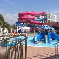 Photo taken at Club Nena Aqua Park by Tuçe K. on 9/27/2015
