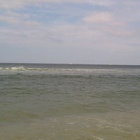 Photo taken at Sea Bright Locals Beach (Private) by iammeggie B. on 7/24/2013