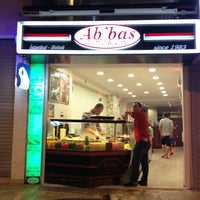 7/28/2013 tarihinde Okan Ercanziyaretçi tarafından Ab'bas Waffle & Cafe'de çekilen fotoğraf