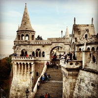 Photo taken at Fisherman's Bastion by César C. on 9/22/2012