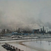 "Photo taken at АБК ОАО ""ТАНЕКО"" by Almaz G. on 1/28/2014"