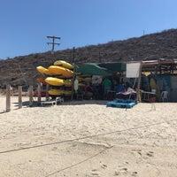 Photo taken at Playa Pichilingue by Alexey M. on 4/21/2017