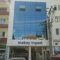 Photo taken at Makay İnşaat by Ümit T. on 10/30/2013