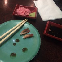 Photo taken at Real Sushi Greenside by Joanne B. on 12/16/2015