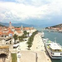 Photo taken at Trogirska riva by Amra H. on 7/28/2013