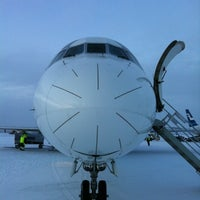 Photo taken at Kittilä Airport (KTT) by Jaakko S. on 12/7/2012