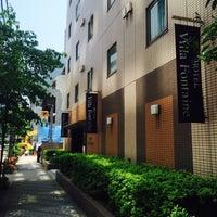 Photo taken at Hotel Villa Fontaine Tokyo-Nihombashi Hakozaki by 小川 黃. on 6/1/2015