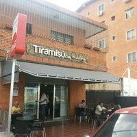 Photo taken at Tiramisú Cafe by Jesús Manuel A. on 8/3/2013