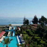 Photo taken at Lims Bona Dea Beach Hotel by Ayşe K. on 4/3/2016