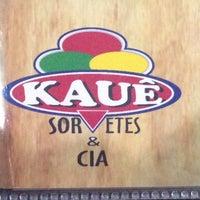 Photo taken at Kauê Sorvetes by Danilo A. on 3/3/2014