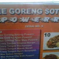 Photo taken at Mee Goreng Sotong Powerrr by Fatih A. on 3/5/2013
