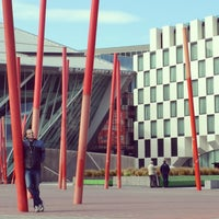 Photo taken at Grand Canal Dock by Miguel M. on 4/15/2013