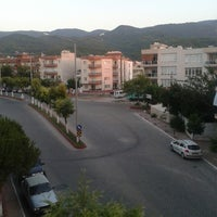 Photo taken at Davutlar by Deniz A. on 7/14/2013