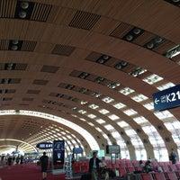 Photo taken at Paris Charles de Gaulle Airport (CDG) by Yuki K. on 7/19/2013