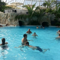 Photo taken at Therme Erding by Michaela S. on 10/3/2013