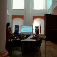 Photo taken at America Borboru (American Corner Bishkek) 2nd floor of the Bayalinov Library by Cholpon B. on 8/26/2013