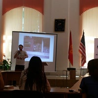 Photo taken at America Borboru (American Corner Bishkek) 2nd floor of the Bayalinov Library by Cholpon B. on 5/16/2014