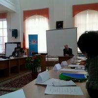 Photo taken at America Borboru (American Corner Bishkek) 2nd floor of the Bayalinov Library by Cholpon B. on 3/26/2014
