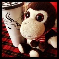 Photo taken at Coffee Gun by Jacky C. on 5/3/2014