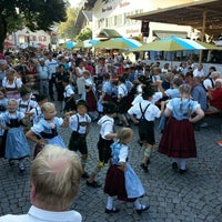 Photo taken at Marktfest Prien am Chiemsee by Thomas G. on 8/15/2013