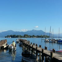 Photo taken at Chiemsee by Thomas G. on 9/5/2013