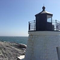 Photo taken at Castle Hill Lighthouse by Onur Ö. on 7/4/2013