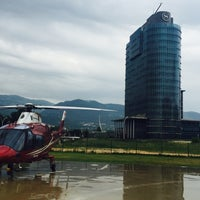 Photo taken at Helitaksi (Heliport) by Boutyboo on 6/7/2016