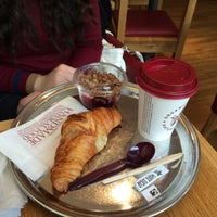 Photo taken at Pret A Manger by Fadime E. on 2/15/2014
