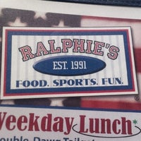 Photo taken at Ralphie's Sports Eatery by Aleks on 5/15/2015