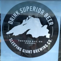 Photo taken at Sleeping Giant Brewery Co by Aleks on 7/5/2016