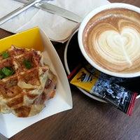 Photo taken at Wafels & Dinges Cafe by Crystal C. on 7/18/2013