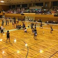 Photo taken at 越谷市立総合体育館 by tombora on 5/6/2017