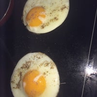 Photo taken at Pierre's Eggs On The Hot Plate by Peter B. on 2/23/2014