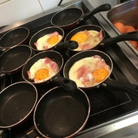 Photo taken at Pierre's Eggs On The Hot Plate by Peter B. on 9/20/2014