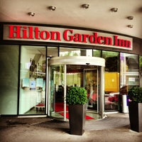 Photo taken at Hilton Garden Inn Stuttgart NeckarPark by Alexey U. on 7/18/2013