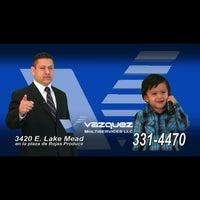 Photo taken at Vazquez Multiservices LLC by Tony V. on 7/10/2013
