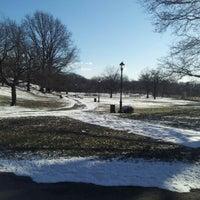 Photo taken at Pelham Parkway by Tefta M. on 1/26/2013