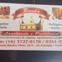Photo taken at Lanchonete e Pastelaria Rainha by Sahid S. on 2/3/2014