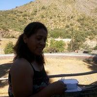 Photo taken at Camping el Toyo by Manuel R. on 1/3/2014
