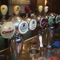 Photo taken at Belgian Beer Café Brussels by TJ G. on 1/22/2013