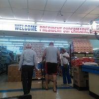 Photo taken at President Supermarket by pirooz p. on 8/13/2014