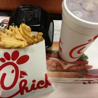 Photo taken at Chick-fil-A Providence Marketplace by Abigail Y. on 3/29/2013