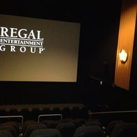 Photo taken at Regal Cinemas Providence 14 by Abigail Y. on 10/9/2012