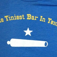 Photo taken at Tiniest Bar In Texas by Kathryn I. on 1/31/2013