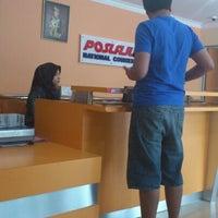 Photo taken at Pos Laju by Zatil A. on 12/31/2012