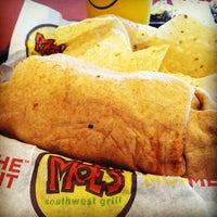 Photo taken at Moe's Southwest Grill by Zac C. on 6/25/2013