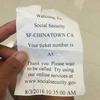 Photo taken at Social Security Administration by Hazel D. on 8/3/2016