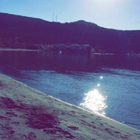 Photo taken at Altay's beach by Kaan A. on 10/9/2016
